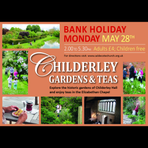 Childerley Hall Open Gardens and Afternoon Teas