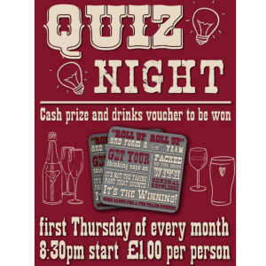 Quiz Night at The Wheatsheaf