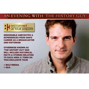 Dan Snow – An Evening with the 'History Guy'