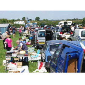 Saddington Car Boot Sale.
