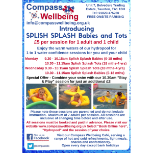 Splish Splash at Compass Wellbeing