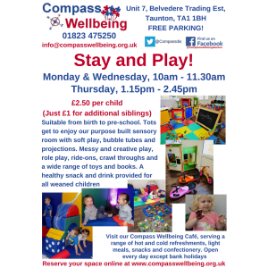 Stay and Play at Compass Wellbeing