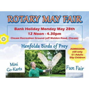 Cheam Rotary Fair @CheamTraders