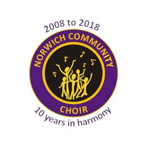 Norwich Community Choir 10th Birthday celebration concert.