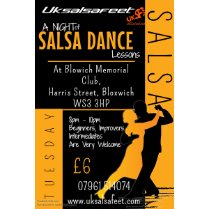 Walsall Salsa Classes for beginners