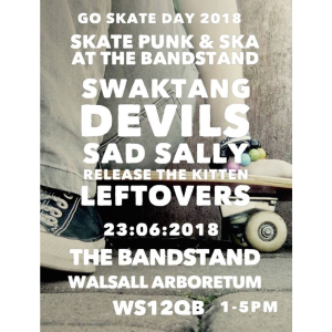 Skate punk & ska at the bandstand in Walsall Arboretum