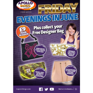 Fantastic Friday Evenings in June at Apollo Bingo