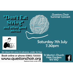 Questors Choir Summer Concert