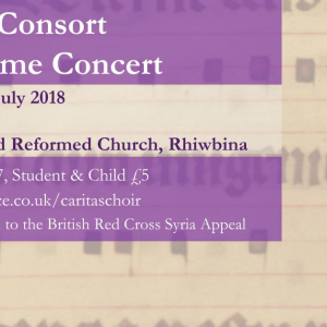 Caritas Lunchtime Concert