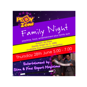 Playzone Family Night