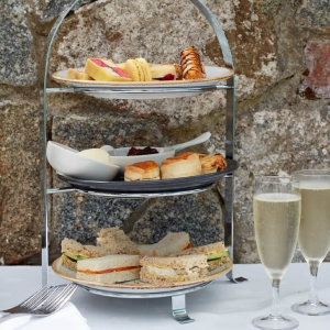 AFTERNOON TEA ON HERM ISLAND