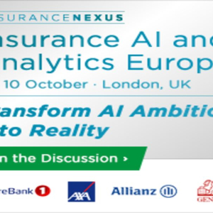 Insurance AI and Analytics Europe 2018, London, UK