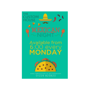 Mexican Night at The Custom House