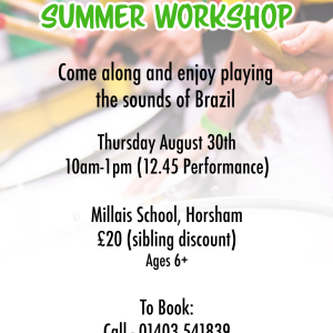 Samba Jam Summer Workshop