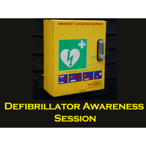 Defibrillator Awareness Session - Little Paxton