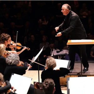 Elder Conducts Brahms and Mahler