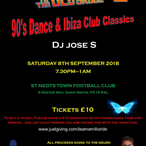 Back to the Old Skool St Neots 2 (Charity Event)
