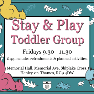 Stay and Play Toddler Group