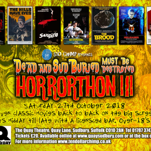 Dead And SudBuried Must Be Destroyed: Horrorthon III
