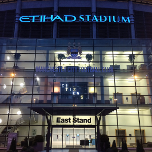 Etihad Stadium wedding fayre, hosted by County Brides