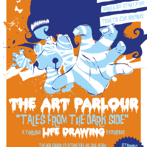 The Art Parlour - A thrilling, chilling life Drawing Experience