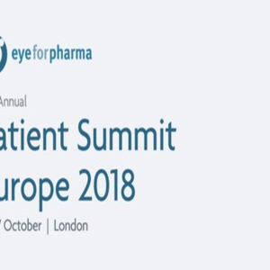 eyeforpharma Patient Summit Europe 2018