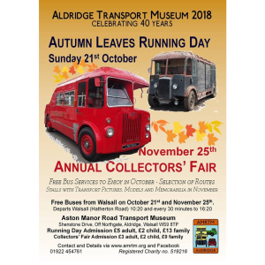 Celebrating 40 years with Aldridge Transport Museum!