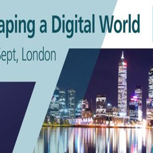 Shaping a Digital World Conference London September 2018