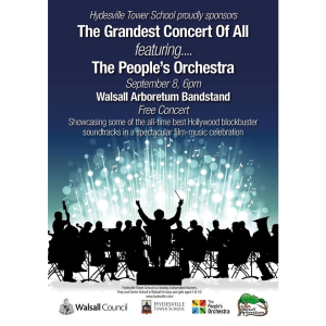 The Grandest Concert of All in Walsall Arboretum