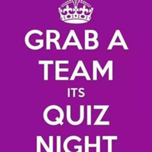 Quiz Night Friday 14th Septrmber