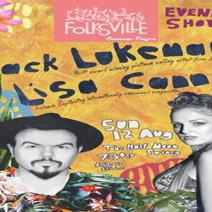 Folksville Summer Fayre - Jack Lukeman + Lisa Canny - Folk at Half Moon