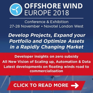 Offshore Wind Europe 2018