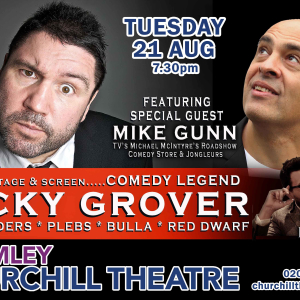 Ricky Grover  Stand-up Comedy