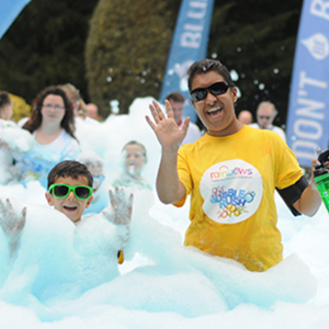 Rainbows Bubble Rush Leicester