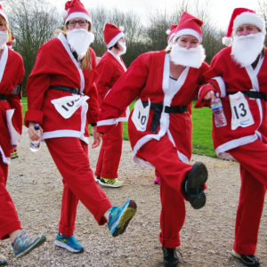 Derby Santa Fun Run