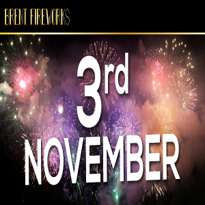 Brent and Wemblely Fireworks Display, Saturday 3rd November 2018 (celebration of culture)