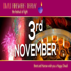 Diwali Fireworks Display and festival London  - 3rd November 2018