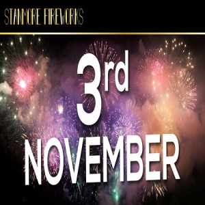 Stanmore and Pinner Fireworks 3rd November 2018: (CELEBRATION OF CULTURE)