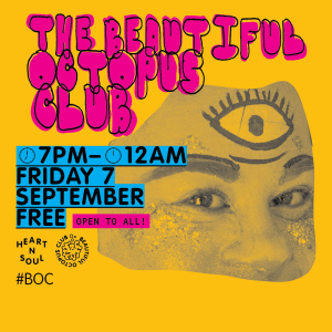 The Beautiful Octopus Club is back at the Southbank Centre