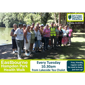 Eastbourne Hampden Park Health Walk