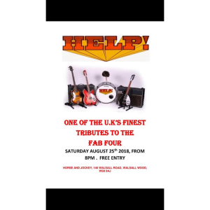 HELP Beatles Tribute @ Horse and Jockey Walsall Wood