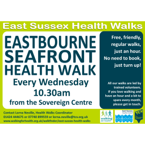Eastbourne Seafront Health Walk