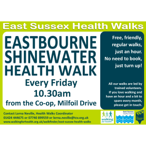 Eastbourne Shinewater Health Walk