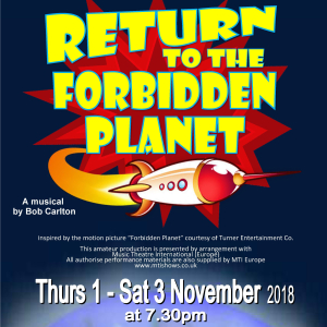 'Return to the Forbidden Planet' by Bob Carlton