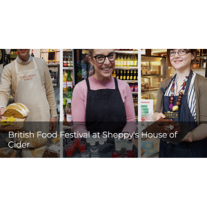 British Food Festival at Sheppy's House of Cider