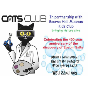 CATS CLUB at Bourne Hall Museum Kids Club Celebrate #Epsom Salts