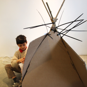 SUNDAY FAMILY WORKSHOP  Inhabited Spaces   · with artist educator Flora Duley
