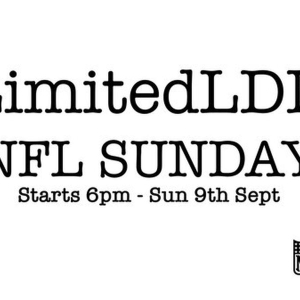 NFL Sunday at LimitedLDN