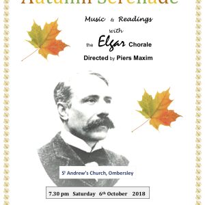 An Autumn Serenade in Ombersley with the Elgar Chorale