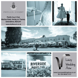 Luxury Wedding Show, Phyllis Court Club, Henley on Thames